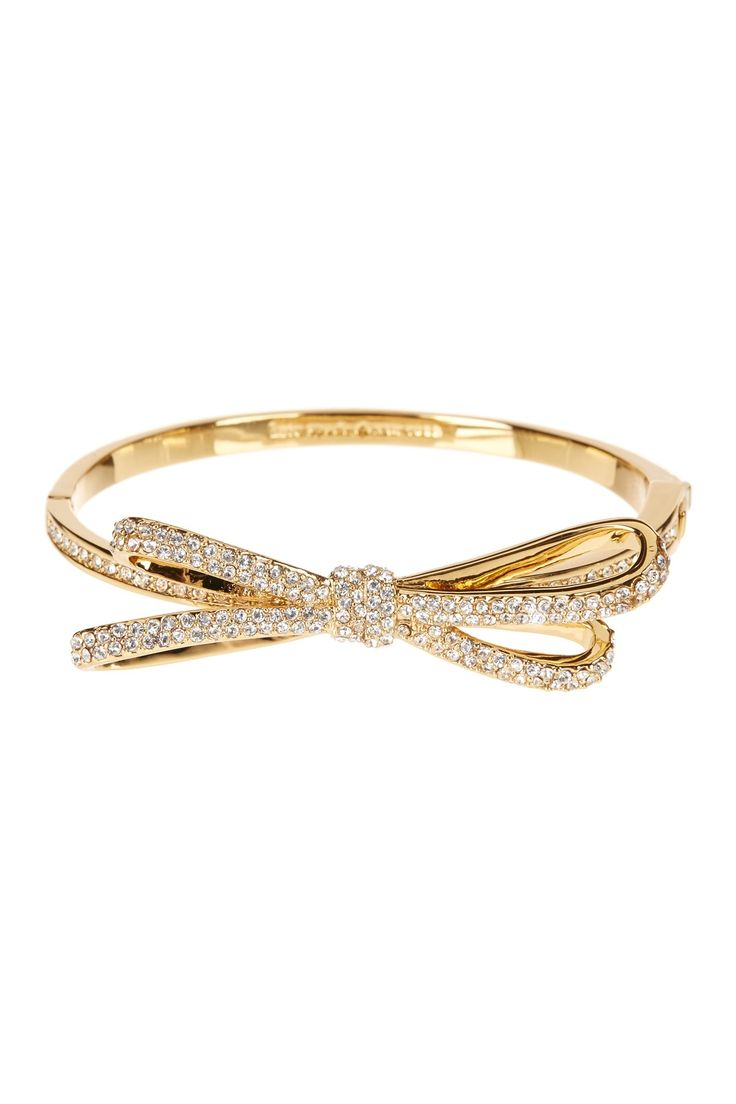 pave hinge bow bangle by kate spade new york on @nordstrom_rack