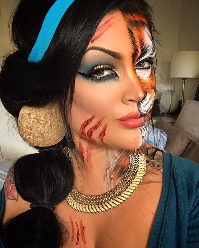 das schnste disney make up zu halloween - Tiger For Halloween