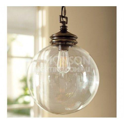 Calhoun Glass Pendant