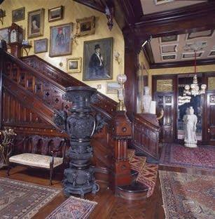Calhoun Mansion Main Stairway:  South Carolina