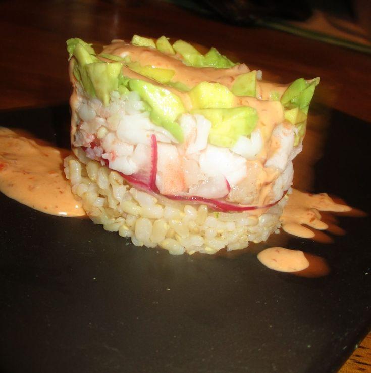 Stacked Sushi Salad