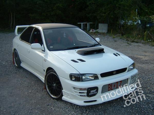 Modified Subaru Impreza