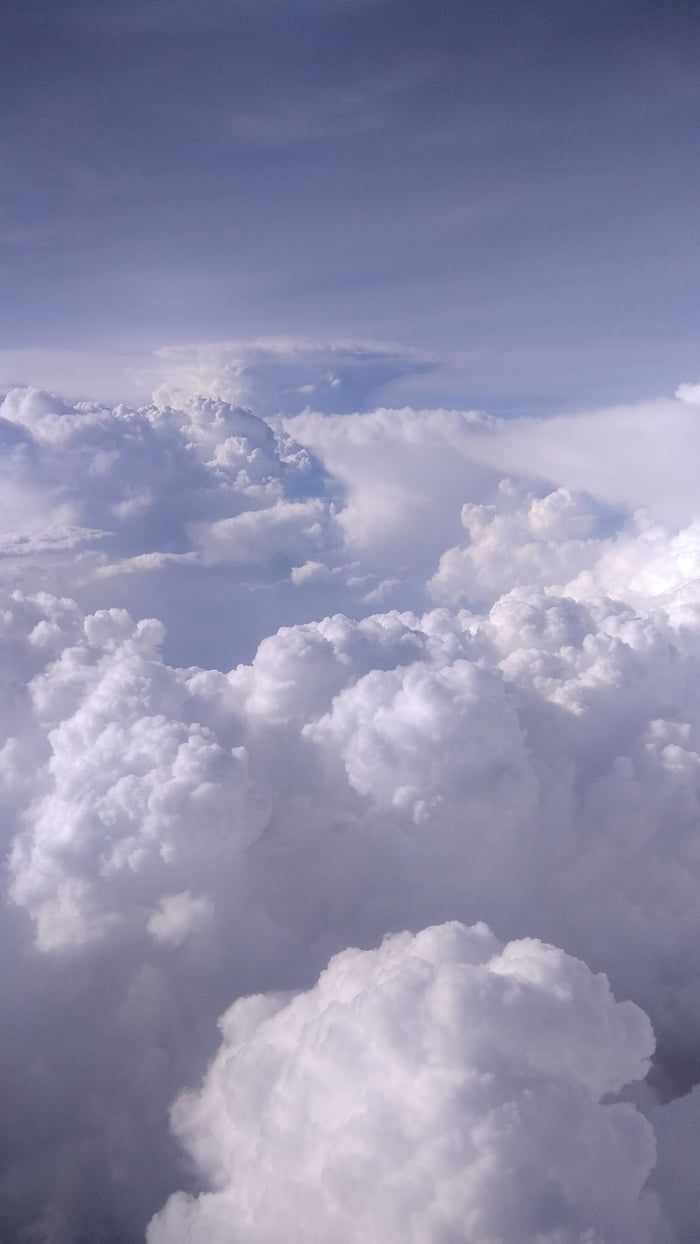 Picture Of The Sky From A Plane Cloud Wallpaper Sky Pictures Clouds