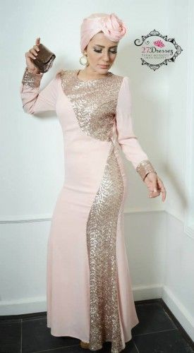 Soiree hijab dresses by 27dresses | Just Trendy Girls- i know nothing about this but i can still appreciate pretty