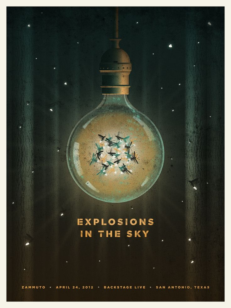 Explosions In The Sky poster by DKNG