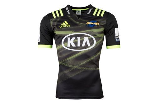 adidas Hurricanes 2018 Alternate Super Rugby S/S Rugby Shirt, £65.00