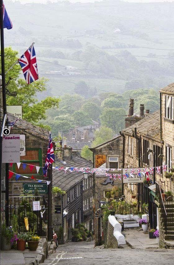 Haworth in Yorkshire, England …