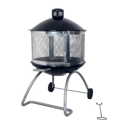 Living Accents® 28in Steel Black Firepit at Ace Hardware ... on Ace Hardware Fire Pit id=82846