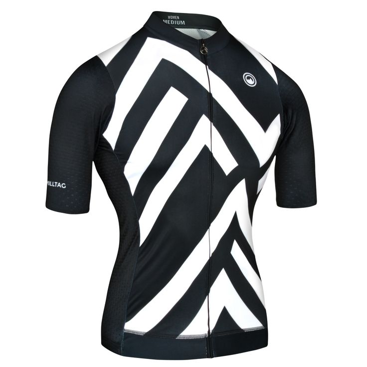Sector Women Jersey - Short Sleeve Pro Cut Cycling Jersey by Milltag