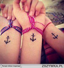 Zobacz zdjęcie Tatuaż na nadgarstku z kotwicą <3
