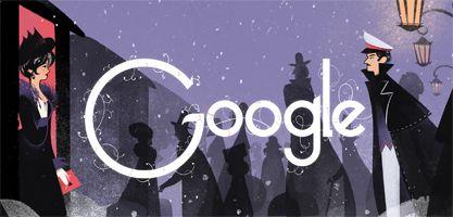 Google Doodle of Leo Tolstoy's 186th Birthday - Sept. 09, 2014