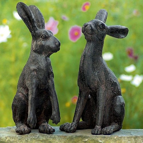 Chaucer hares £55 pair. 14&15