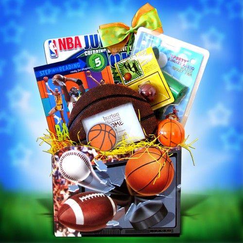 Basketball Gift Basket Birthday Gift Ideas For Boys