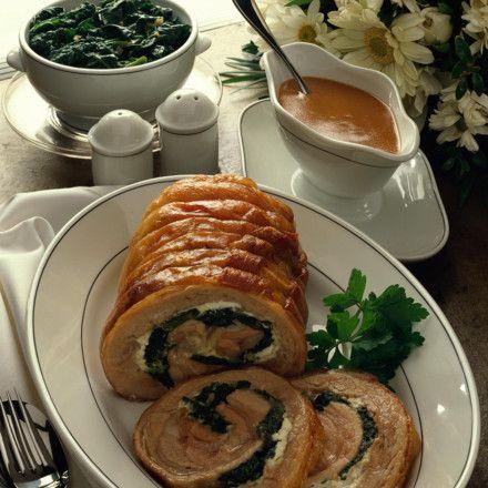 Gefüllter Schweine-Rollbraten Rezept