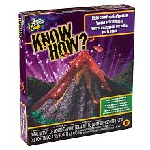 Edu-Science - Know How? Night Glow Erupting Volcano