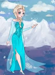 Image result for dibujo elsa frozen