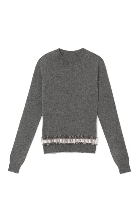 Sweater With Safety Pins by Thom Browne