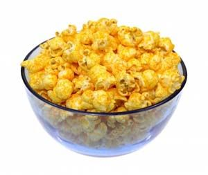 Homemade Cheese Popcorn Recipe: http://glutenfreerecipebox.com/homemade-cheese-popcorn-recipe/ #glutenfree #glutenfreerecipes #glutenfreesnacks
