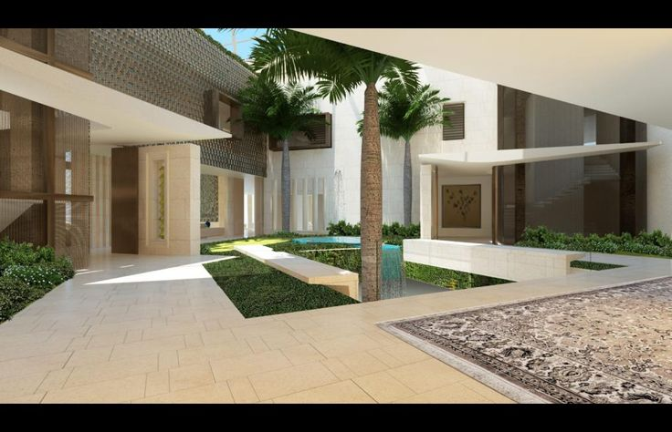 Modern villa uae palm jumeirah dubai uae saota for Modern house uae