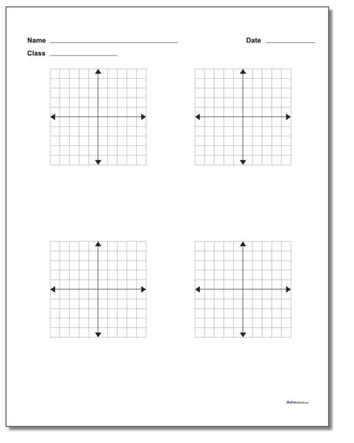 Coordinate Grids Worksheets 5th Grade Blank Coordinate Plane Work Pages Coordinate Plane Coordinate Plane Worksheets Coordinate Plane Graphing