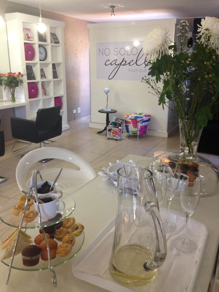 A glimse of our lovely Salon, celebrating Womens Month