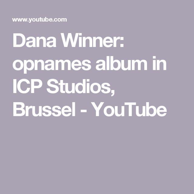 Dana Winner: opnames album in ICP Studios, Brussel - YouTube
