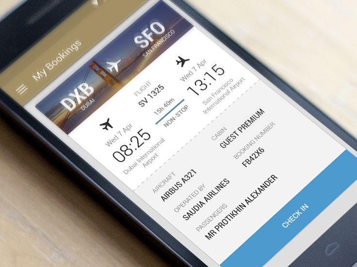 Flight App by Alexander Protikhin