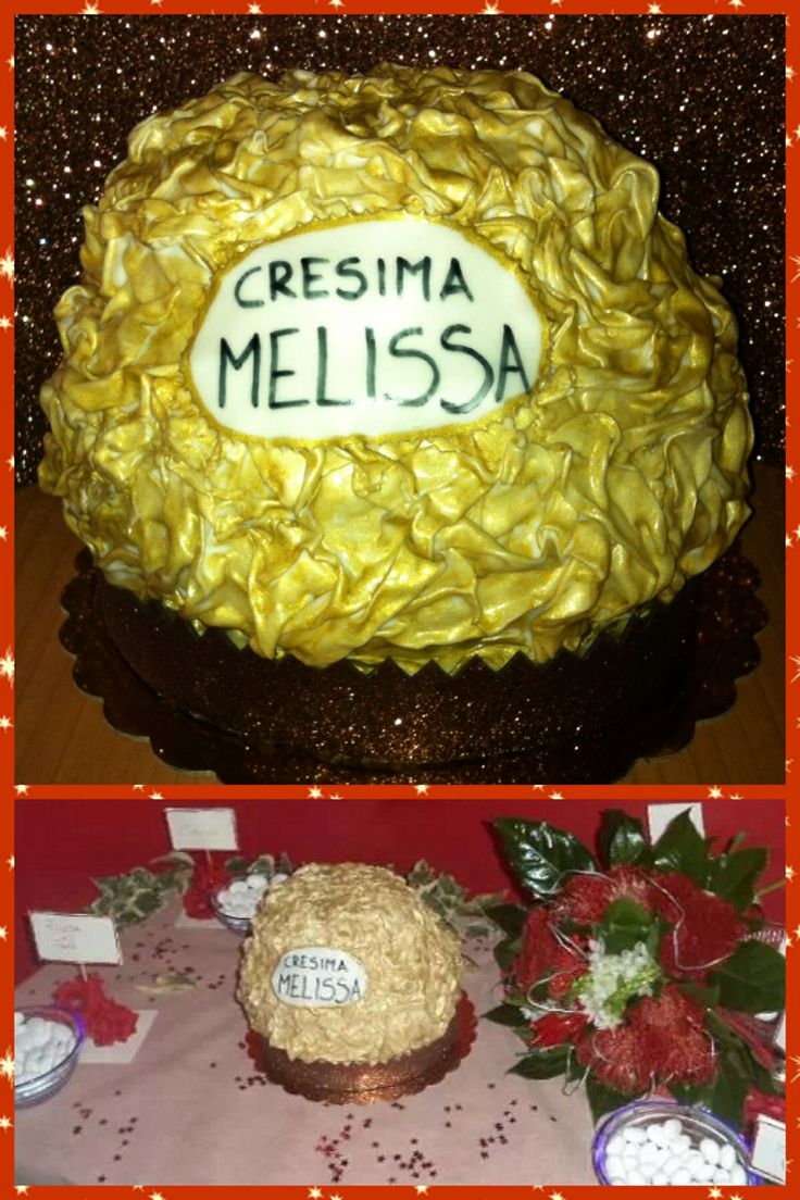 Mega torta Rochet by #chiryscakes
