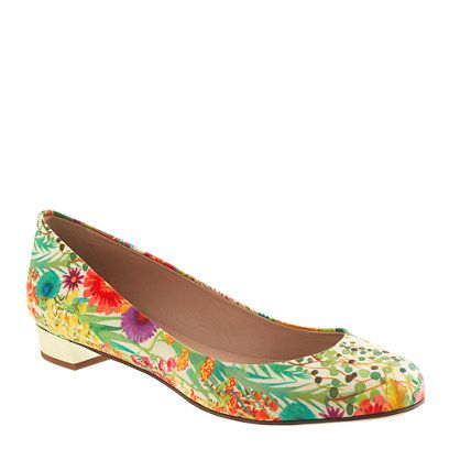J.Crew x Liberty of London flats