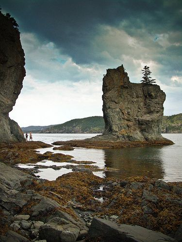 The Pinnacle, Harry's Harbour, Newfoundland.