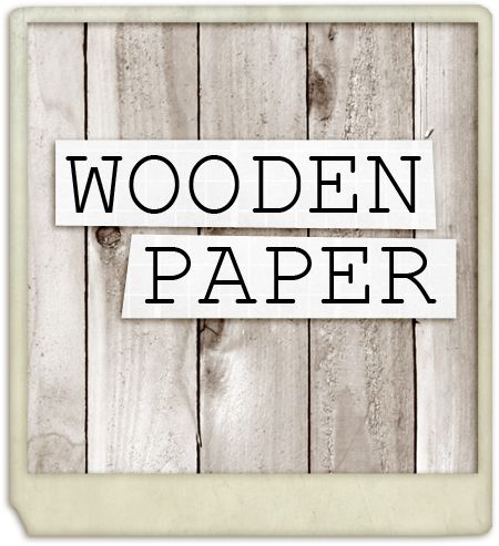 cool ways to use wooden paper