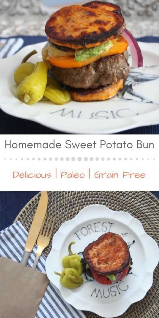 Seriously delicious and incredibly satisfying sweet potato bun recipe!!! So YUM! Paleo and grain free!