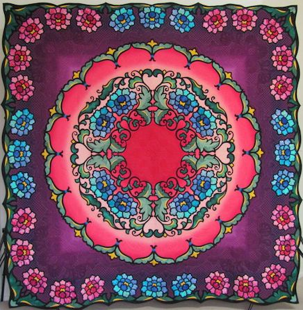 Best of Show at Pacific International Quilt Festival in 2013! Celebrate our 25th year with us October 13-16, 2016