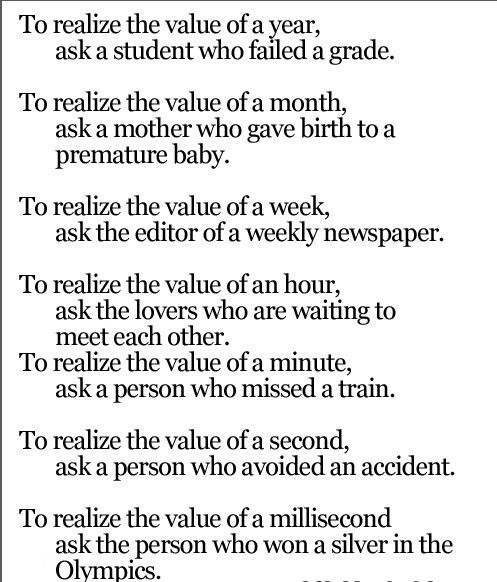Quotes On Time Value