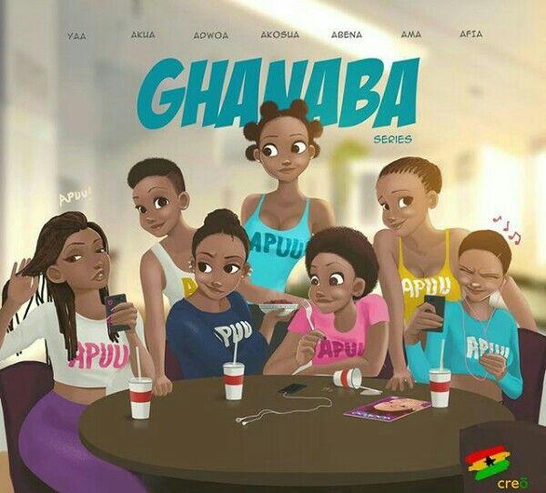 The 7 goddesses...#ghanaba#creo