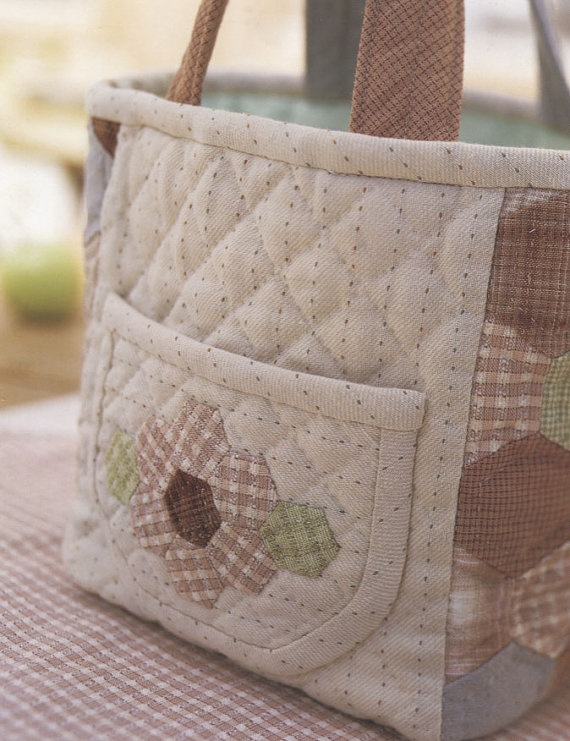 Quilted bag.