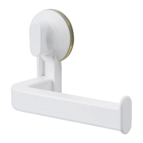 STUGVIK Suporte p/papel hig c/ventosas IKEA Com ventosas que se aderem a superfícies lisas.