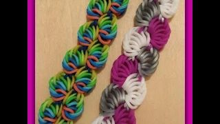 "New "" Sorbet Delight "" Hook Only Rainbow Loom Bracelet/ How To Tutorial - YouTube"