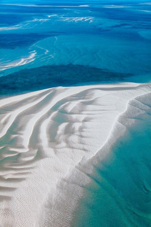 Dunes in the islands of Mozambique's Bazaruto Archipelago. Photograph by Mirjam Bleeker for Condé Nast Traveller