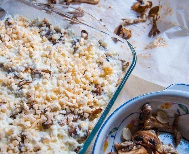 Грибная лазанья | Про рецептики - лучшие кулинарные рецепты для Вас!