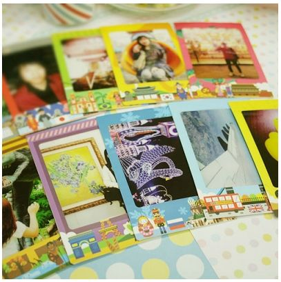 MochiThings.com: World Instax Mini Film Frame Sticker Set