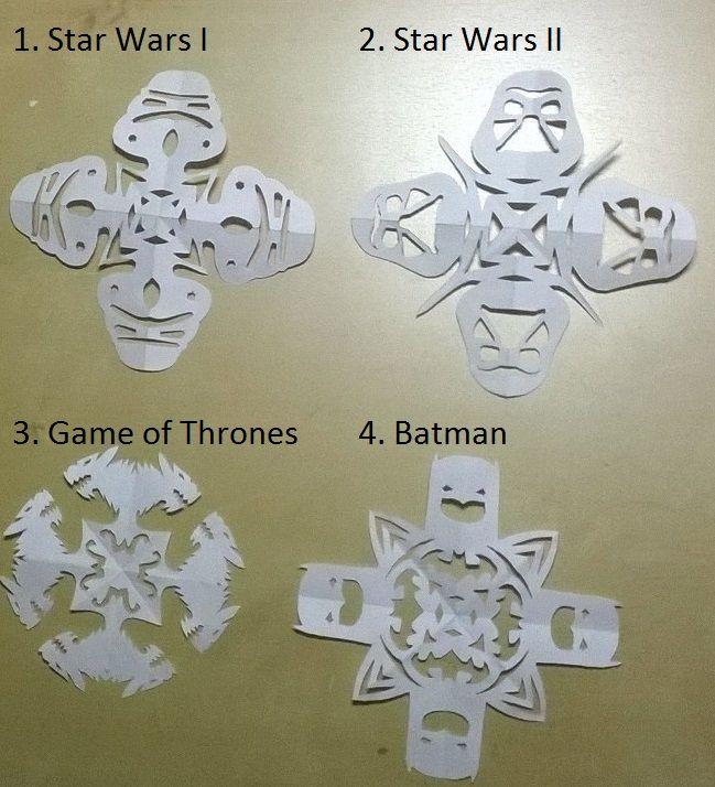 25 einzigartige star wars schneeflocken ideen auf pinterest weihnachts yoda star wars xmas - Game of thrones interieur ideen ...