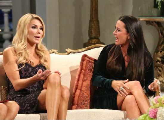 Kyle Richards Slams Brandi Glanville, Says They're Done Being Friends