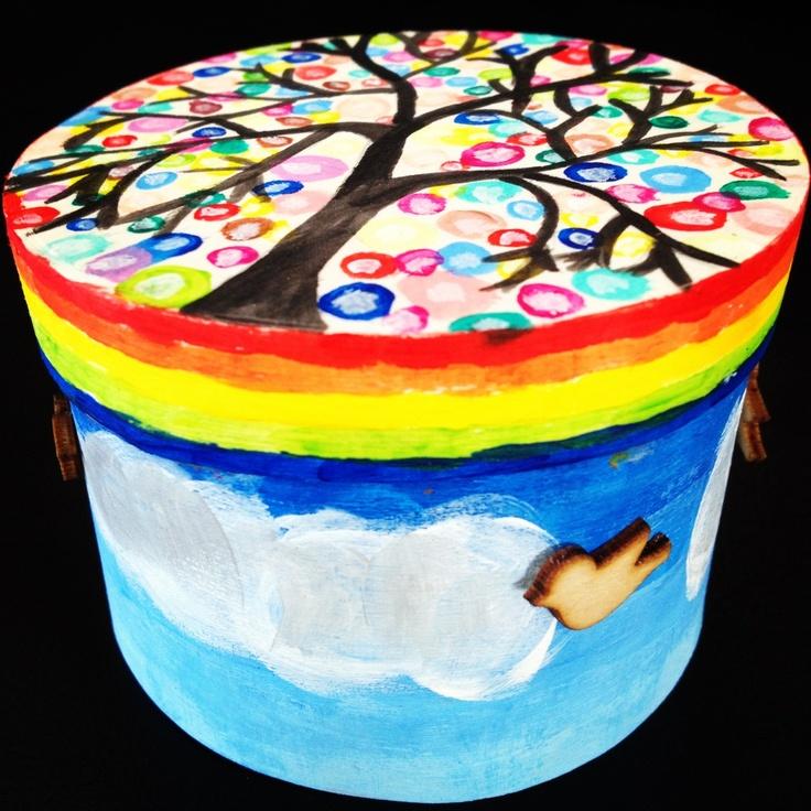 Prachtig! Tijdens de kinderbijeenkomst in januari gaan wij ook zulke doosjes maken.