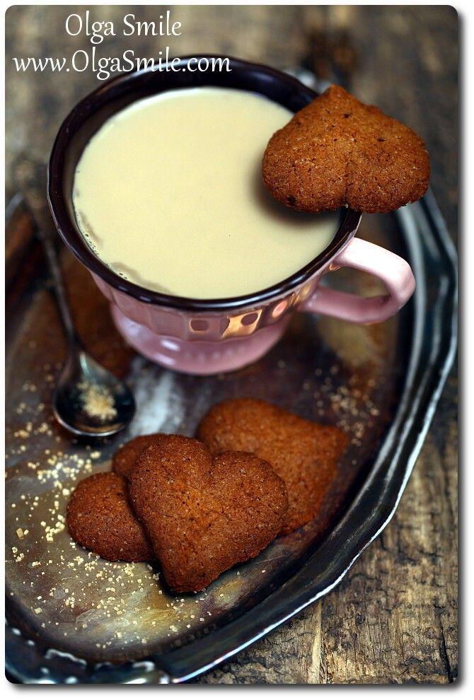 Ciasteczka kawowe - przepis Olgi Smile