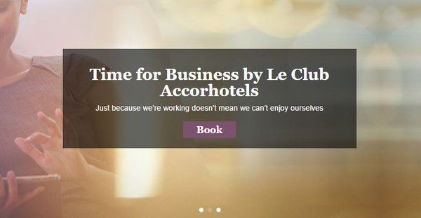 Just because we're working doesn't mean we can't enjoy ourselves http://bit.ly/1WQboMH  #LeClub #AccorHotels