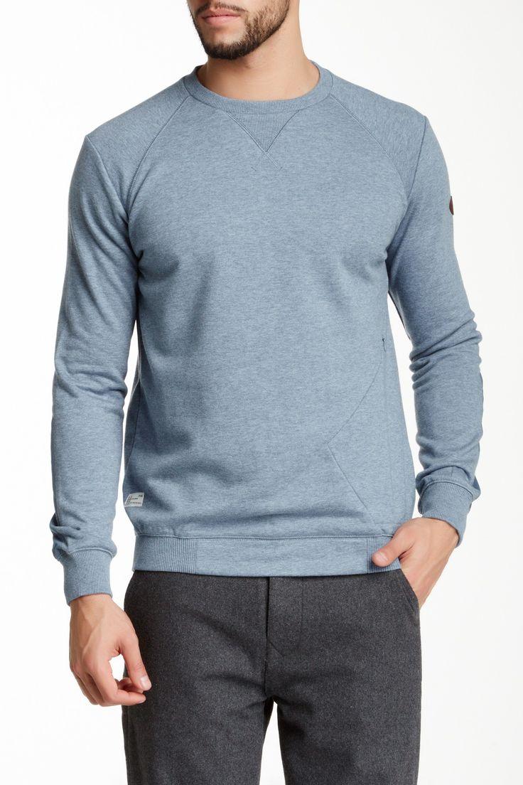 Marshall Artist Stealth Sweatshirt: Steel Blue