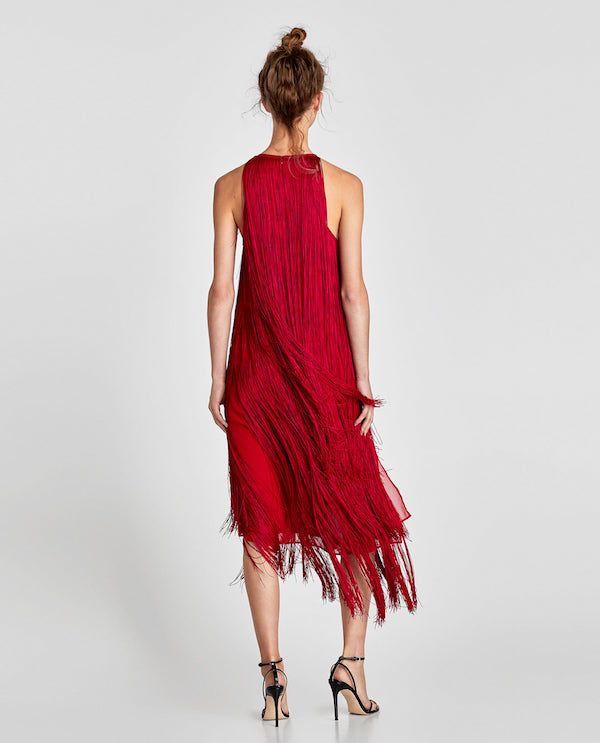 Catálogo Zara Primavera Verano 2020 Moda En Pasarela Vestidos Zara Moda Zara Vestido Con Flecos