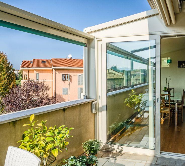 Continuità interno/esterno per la veranda con scorrevoli Schüco e ...