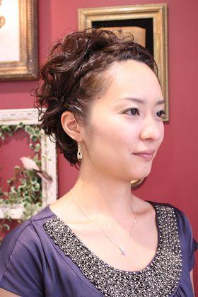 結婚式もOK!長さはそのままで髪型の雰囲気を変えたい☆ショートヘアのアレンジ 参考一覧まとめです!